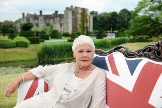 elysian films - Visit Britain Judi Dench Sofa
